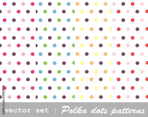 bez-szwu-wzorow-zestaw-polka-dot