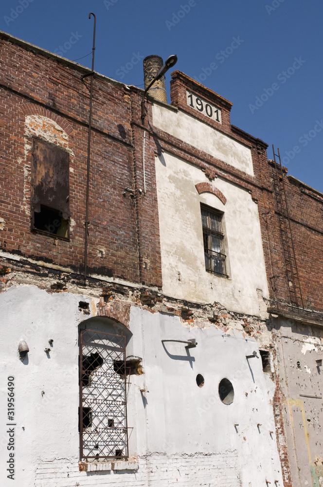 Fasada Stergo Budynku Przemyslowego Foto Poster Wandbilder Bei