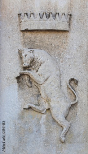 Fototapety, obrazy: Bull sign of Turin