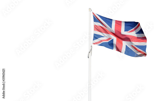 Photo  Bandiera inglese con spazio per testo