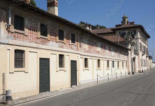 Cassinetta di Lugagnano - Villa Visconti Maineri, Ticino Park Canvas Print