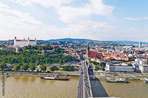 Slowakei, Bratislava, Skyline Poster