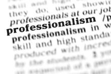 Professionalism (the Dictionar...