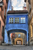 Old town gateway Warsaw, Poland
