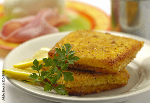 Photo Mozzarella in carrozza