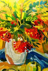 Obraz na PlexiSTILL-LIFE FLOWERS