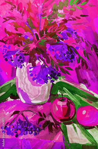In de dag Roze STILL-LIFE FLOWERS