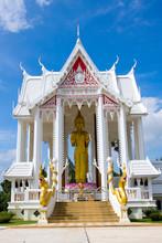 White Temple Nearby Hua Hin, Thailand