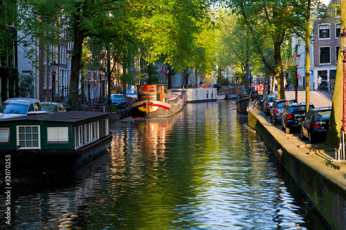 Photo  Amsterdam, canale