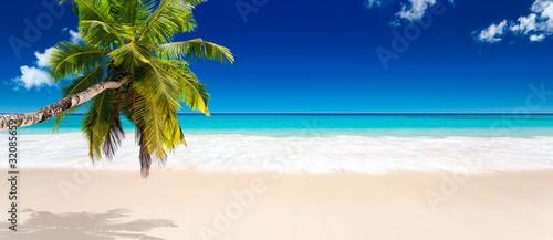 Foto-Leinwand - seychelles plage