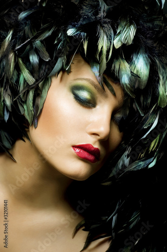 Poster - Fashion Art Portrait