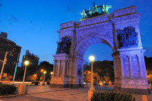 Grand Army Plaza In Brooklyn