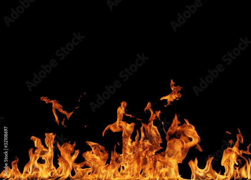 Fire background #32108697