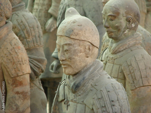 Tuinposter Xian terracotta warrior in xi'an china