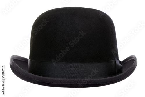 Bowler hat cut out Fototapet