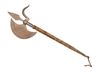 The Ancient Weapon - A Halberd