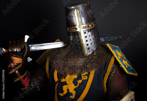 Picture of knight Canvas Print