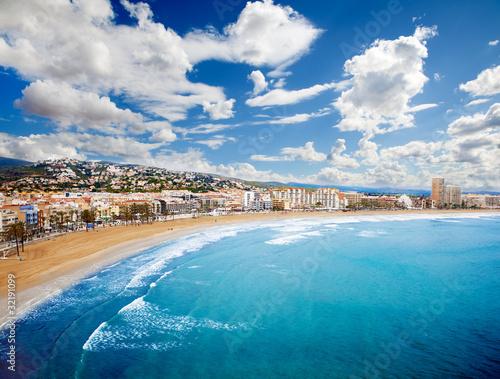 Beach Coast at spain,(Peñiscola)