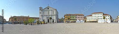 Palmanova  piazza grande Fototapet