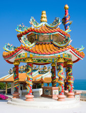 Chinese Temple In Hua Hin , Thailand