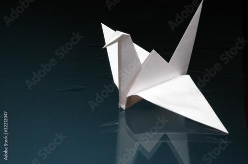 Poster Geometrische dieren paper bird