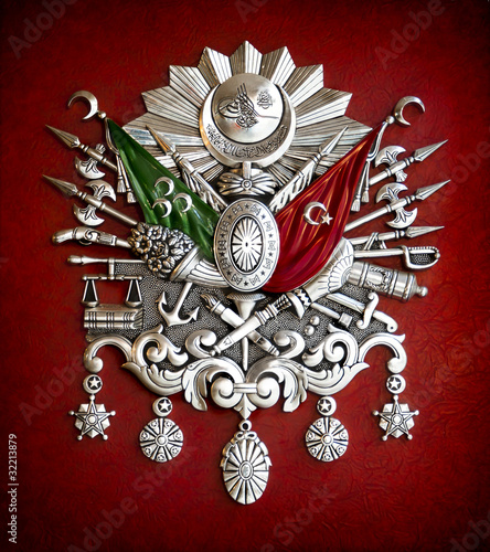 Fotografia  Emblem of Ottoman Empire