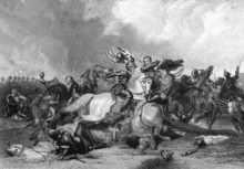 Richard III And The Earl Of Richmond At The Battle Of Bosworth