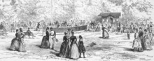 19th Century Tennis In Germany