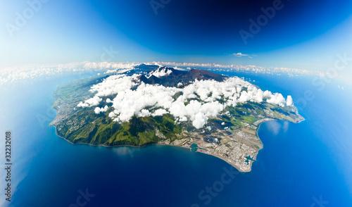 Obraz na plátně ile de la Réunion