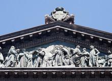 Napoli-Dettaglio Del Tetto Del...
