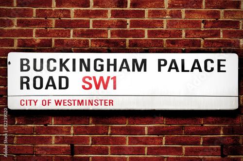 Fotografía Buckingham Palace Road, in London, United Kingdom