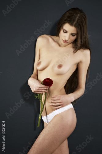 Fotografía Beauty with flower