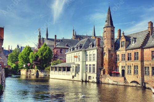 Poster Brussel HDR de Bruges