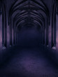 canvas print picture - Gothic Nights