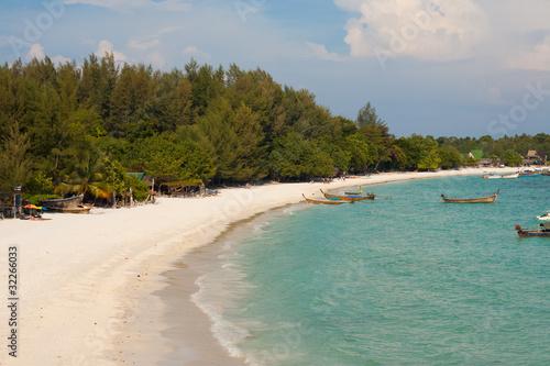 Foto op Plexiglas Caraïben Thai Island Beach Aerial View Koh Lipe
