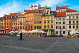 Fototapeta Miasto - Warsaw Old Town