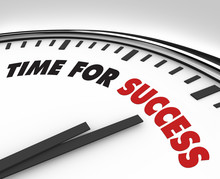 Time For Success - Clock Achievement And Goals