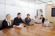 Geschäftsleute beim Meeting