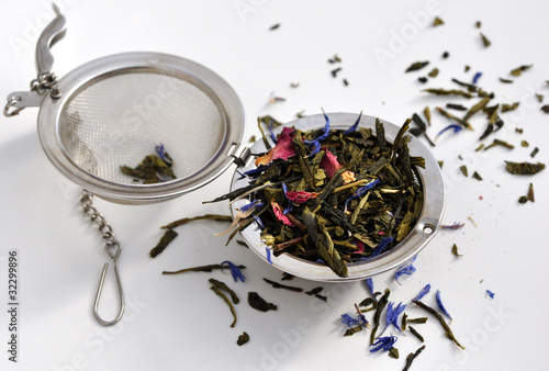 Fotografia, Obraz  thé oriental et boule à thé