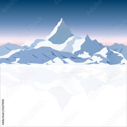 Montagne #32379438