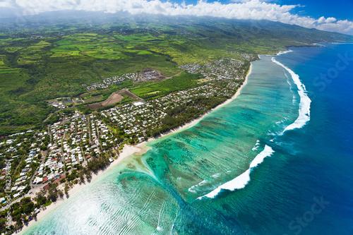 Fototapeta ile de la Réunion obraz