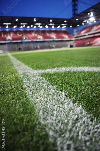 Fototapeta premium stadion piłkarski