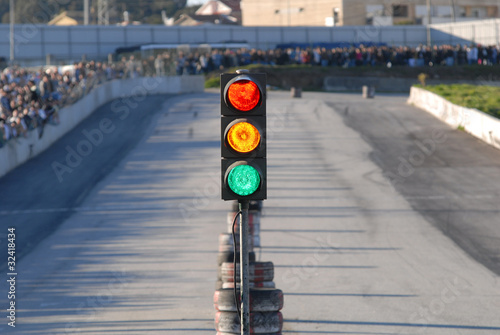 Photo sur Aluminium Motorise auto_04