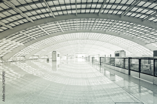 Poster Aeroport modern hall