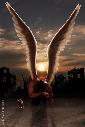 Fotografia, Obraz  angel