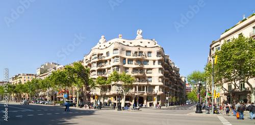 Foto op Canvas Barcelona View of Barcelona, Spain.