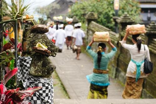 Obraz na plátně  Indonesia, Bali, Besakih temple
