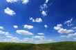 canvas print picture - Blauer Himmel