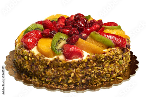 Obraz na plátně  torta alla frutta