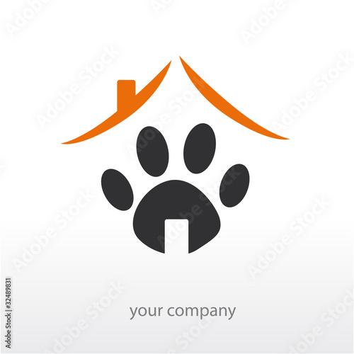 Foto  Firmenlogo, Katzenlogo, Hundelogo